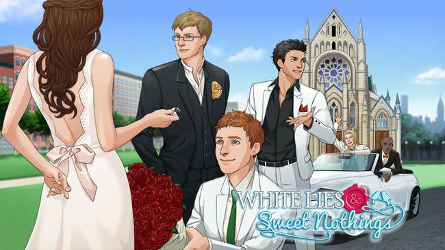 ボルテージ、恋ゲーム「誓いのキスは突然に」の英語版「White Lies & Sweet Nothings」をリリース1