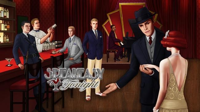 ボルテージ、モバイル向け恋ゲーム「マフィアなダーリン」の英語版「Speakeasy Tonight」をリリース1