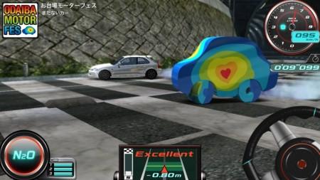 バンダイナムコゲームス、iOS向けレースゲーム「リフトスピリッツ」にて「お台場モーターフェス」とコラボ2