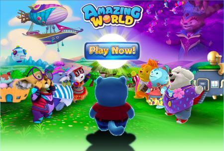 玩具メーカーのGanz、子供向けの3D仮想空間「Amazing World」をオープン1