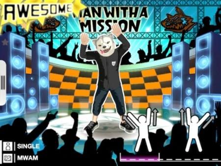 セガネットワークス、iOS向け体感型ダンスゲーム「GO DANCE」の海外版にてロックバンド「MAN WITH A MISSION」の楽曲を配信2