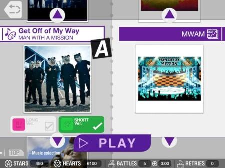 セガネットワークス、iOS向け体感型ダンスゲーム「GO DANCE」の海外版にてロックバンド「MAN WITH A MISSION」の楽曲を配信5