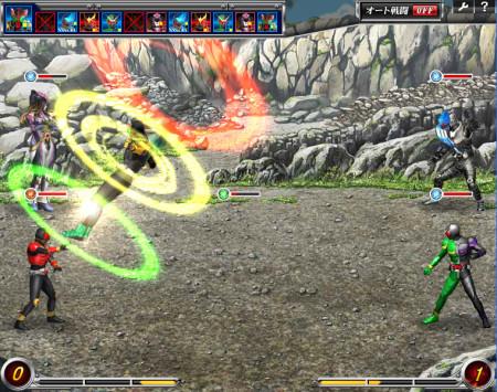 Yahoo! Japanとバンダイナムコオンライン、Yahoo!ゲームにてブラウザゲーム「仮面ライダー バトオンライン」を提供開始3