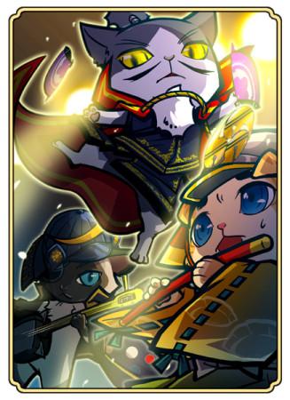 コーエーテクモゲームス、ソーシャル戦国シミュレーションゲーム「のぶニャがの野望」のシングルCD「のぶニャがの野望 天下布猫」をリリース3