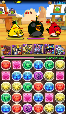 あんまり怒ってない? ガンホー、「パズル&ドラゴンズ」と「Angry Birds」とのコラボ画像を一部公開2