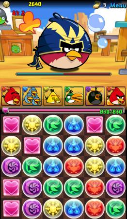 あんまり怒ってない? ガンホー、「パズル&ドラゴンズ」と「Angry Birds」とのコラボ画像を一部公開3