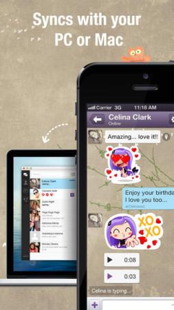 イギリス発のスマホ向けメッセージングアプリ「Viber」、スタンプ販売を開始2
