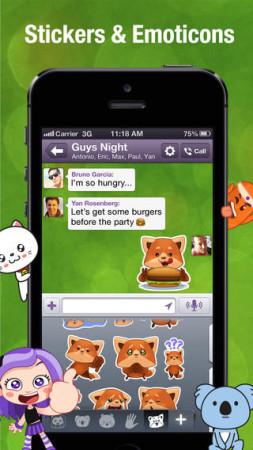 イギリス発のスマホ向けメッセージングアプリ「Viber」、スタンプ販売を開始3