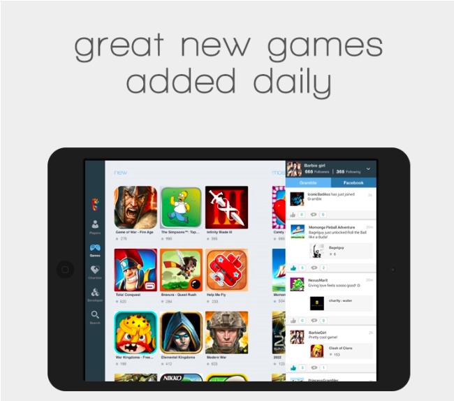 チャリティ専門ソーシャルゲームプラットフォーム「Gramble」、オーストラリアとニュージーランドにてiPad向けアプリをリリース