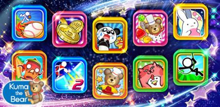 コロプラ、カジュアルゲームブランド「Kuma the Bear」より人気の10タイトルをAmazon Androidアプリストアにて提供開始