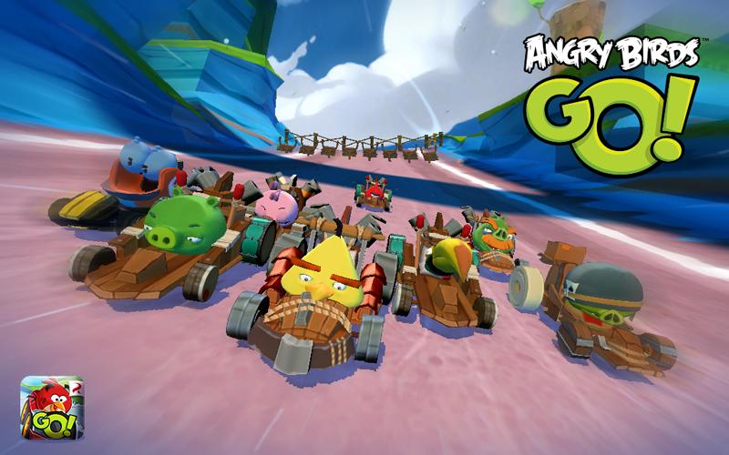 Rovio、来春より「Angry Birds Go!」にマルチプレイ機能を実装