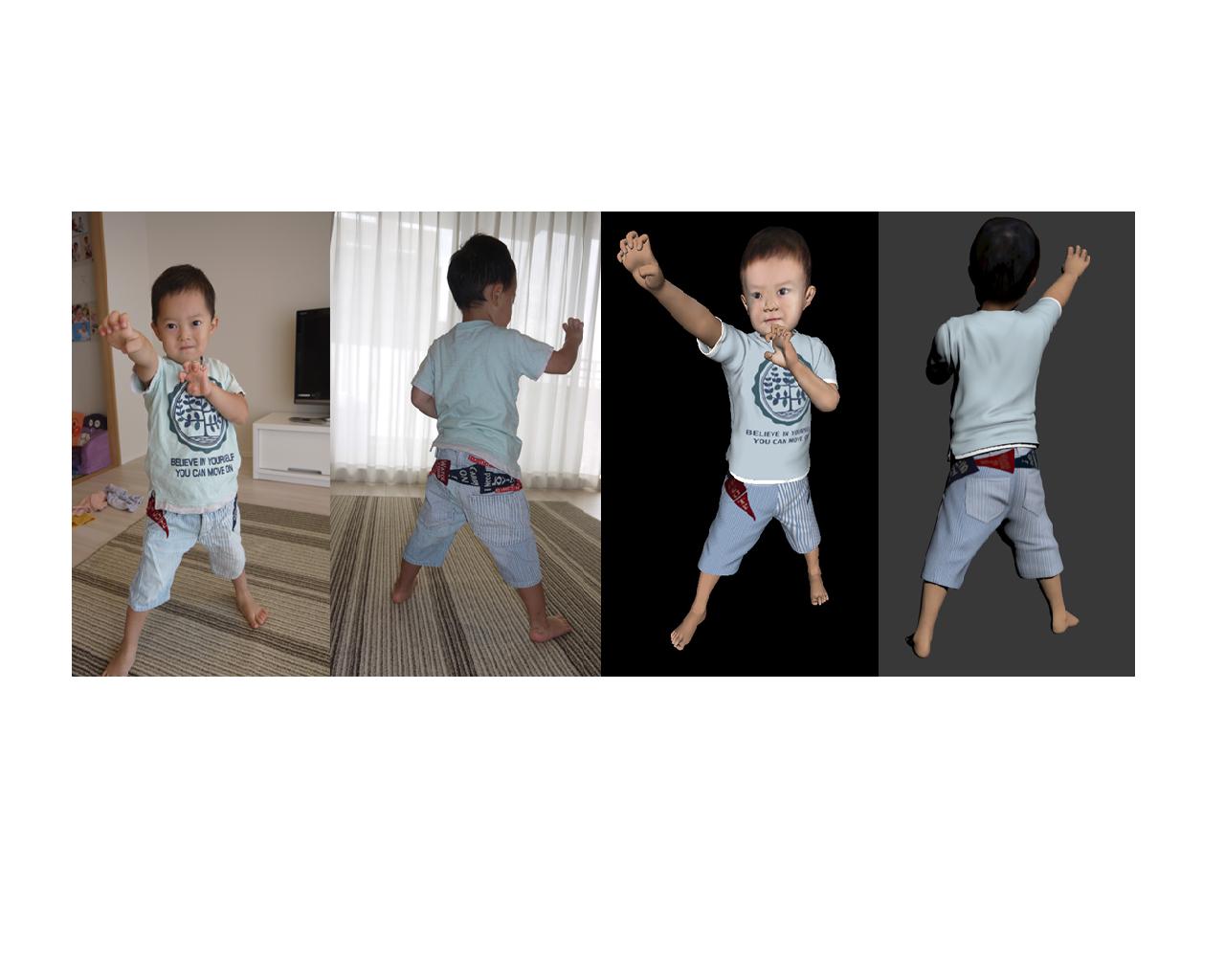 3D Remind、写真からペットや子供の3Dフィギュアを作成するサービス「フィグチュア3D」を提供開始1