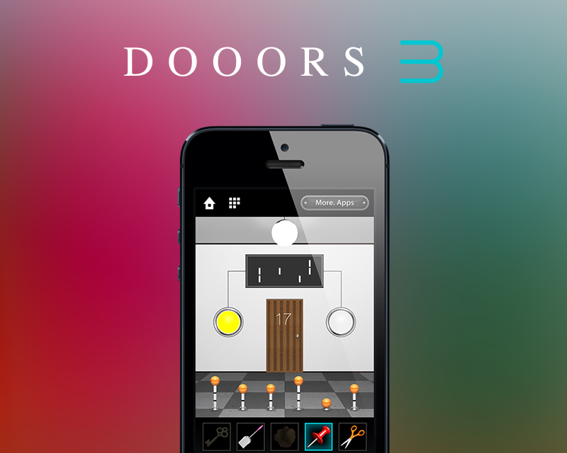 58 WORKS、スマホ向け人気脱出ゲーム 「DOOORS」のシリーズ第3弾をリリース