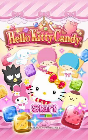 ニフティとサンリオウェーブ、共同でスマホ向けパズルゲーム「Hello Kitty Candy」のiOS版をリリース1