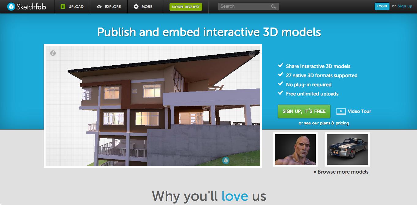 3DCGデータ共有サービス「Sketchfab」、200万ドル資金調達