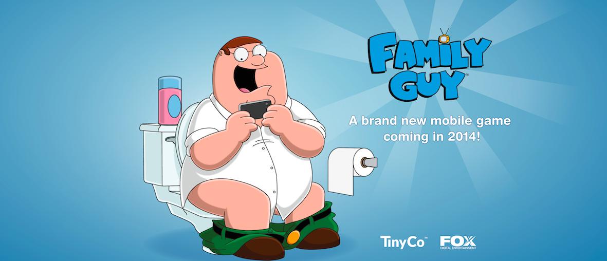 米モバイルゲームディベロッパーのTinyCo、アニメ「ファミリー・ガイ」のモバイルゲームの制作のためFoxと提携