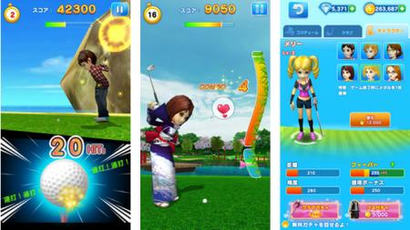 ゲームロフト、LINE GAMEにてカジュアルゴルフゲーム「LINE レッツ!ゴルフ」をリリース2