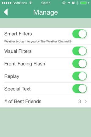 写真がすぐ消えるスマホ向け写真共有&メッセージングアプリ「Snapchat」、テキスト書き込みなど新機能を追加2