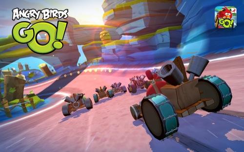 ダウンロード無料! Rovio、Angry Birdsシリーズ最新作にして初のレーシングゲーム「Angry Birds Go!」をリリース1