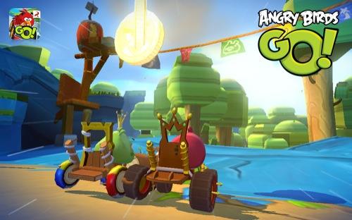 ダウンロード無料! Rovio、Angry Birdsシリーズ最新作にして初のレーシングゲーム「Angry Birds Go!」をリリース3