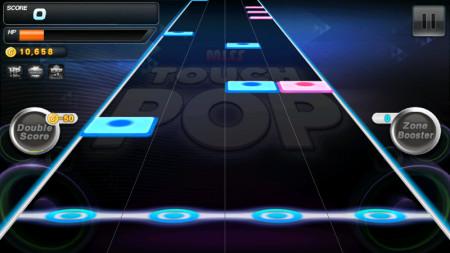 サクセス、端末内の音楽を使って遊ぶAndroid向け音ゲーアプリ「タッチポップ」をリリース2
