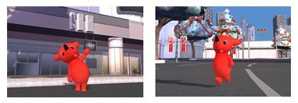 3D仮想空間「meet-me」、千葉のゆるキャラ「チーバくん」とコラボ