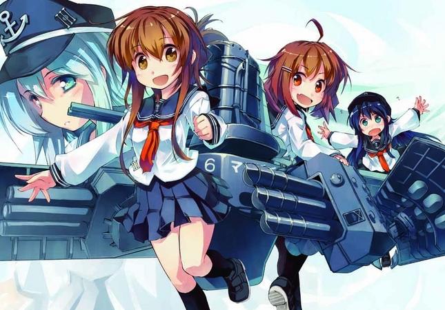 戦艦擬人化シミュレーションゲーム「艦隊これくしょん -艦これ-」、電子書籍でもコミカライズがスタート