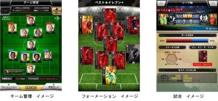 gloops、スマホ向けサッカーゲーム「欧州クラブチームサッカー BEST☆ELEVEN+」のAndroid版をリリース2