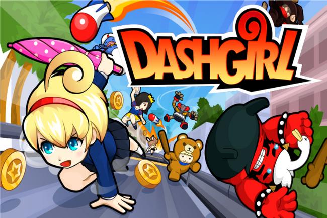 コムシードとDanal Games、LINE GAMEにてスクロールランアクションゲーム「LINE ダッシュガール」を提供開始1