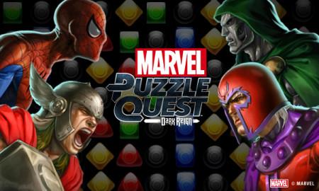 ディースリー・パブリッシャー、マーベルヒーローが登場するスマホ向けパズルゲーム「マーベル・パズルクエスト:ダークレイン」をリリース1