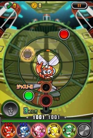 カプコン、iOS向けリズムゲーム「オトレンジャー」にて「ロックマン」とのコラボイベントを開始2