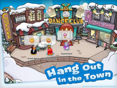 ディズニー、子供向け仮想空間「Club Penguin」のiPad版をリリース1