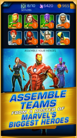 ディースリー・パブリッシャー、マーベルヒーローが登場するスマホ向けパズルゲーム「マーベル・パズルクエスト:ダークレイン」をリリース3