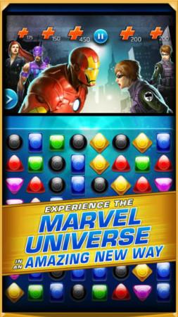 ディースリー・パブリッシャー、マーベルヒーローが登場するスマホ向けパズルゲーム「マーベル・パズルクエスト:ダークレイン」をリリース2