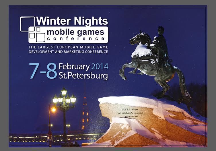 来年2/7-8、ロシア・サンクトペテルブルクにて東欧・ロシア最大のモバイルゲーム展示会「Winter Nights」開催