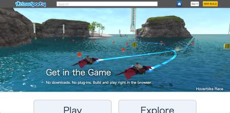 Webブラウザベースの3D仮想空間「Cloud Party」、米Yahoo!に買収されるもサービス終了が決定