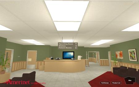 米医療ソリューション機関のAmerinet、ヴァーチャルショールーム「Amerinet Virtual Facility」をオープン2