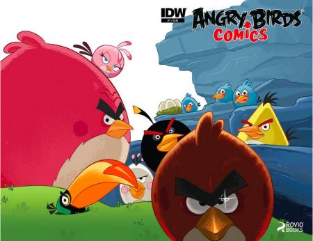 Angry Birdsがコミックにも飛来! IDW Publishing、6月よりAngry Birdsシリーズのコミックを出版