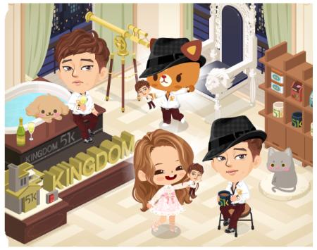 LINE、LINE Playにて韓流スターのソ・ジソブの公式アバターとルームを公開3