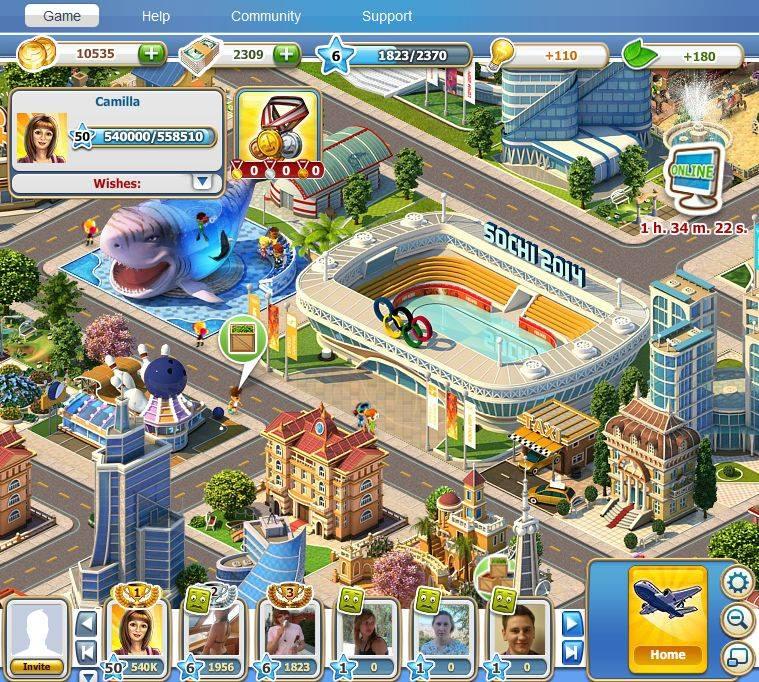 ソーシャルゲームでもソチオリンピック! 101XP、Facebookにて冬期オリンピック会場を建設する町作りゲーム「Sochi 2014. Olympic Games Resort」をリリース1