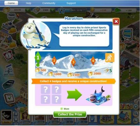 ソーシャルゲームでもソチオリンピック! 101XP、Facebookにて冬期オリンピック会場を建設する町作りゲーム「Sochi 2014. Olympic Games Resort」をリリース2