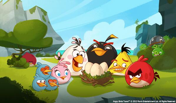Angry Birdsのアニメシリーズ「Angry Birds Toons」のDVD、日本でも発売決定1