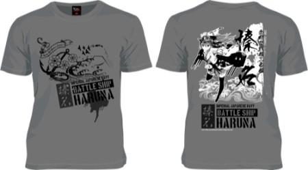 ニッポン放送のデザインTシャツブランド「193t」、戦艦擬人化シミュレーションゲーム「艦隊これくしょん -艦これ-」の「榛名」Tシャツの予約受付を開始