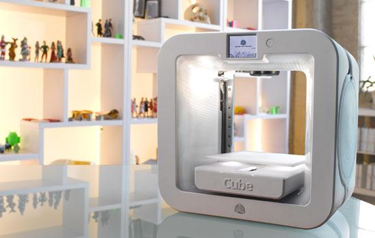 3D Systems、卓上3Dプリンタ「Cube」シリーズの最新モデル「Cube 3」を発表