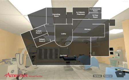米医療ソリューション機関のAmerinet、ヴァーチャルショールーム「Amerinet Virtual Facility」をオープン3