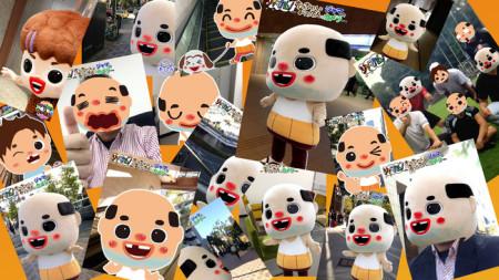 エムジェイガレイジとNinebonz、兵庫県尼崎市の非公式ゆるキャラ「ちっちゃいおっさん」のiOS向けカメラアプリ「ジャマカム!〜ちっちゃいおっさんジャマだカメラ〜」をリリース1