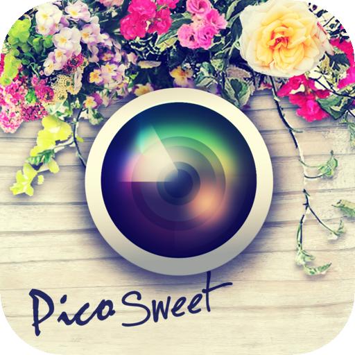 アンジーのiOS向けカメラアプリ「Pico Sweet」、リリースから2ヶ月で100万ダウンロード突破1