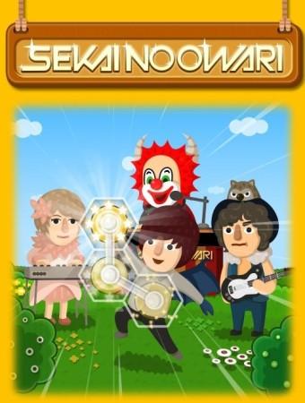 LINE GAMEの人気パズルゲーム「LINE ポコパン」、バンド「SEKAI NO OWARI」とコラボ2