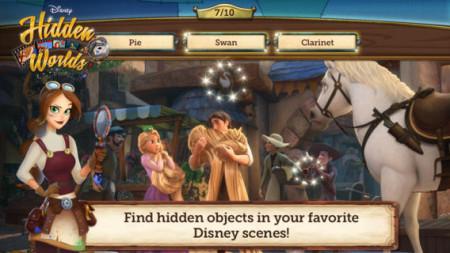 ディズニー、歴代ディズニー作品をモチーフにしたもの探しソーシャルゲーム「Disney Hidden Worlds」をリリース1