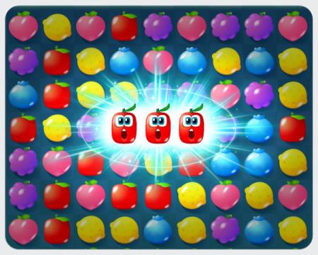 LINE Playの中でもゲーム! LINE、LINE Play内で遊べるパズルゲーム「フルーツモンスター」をリリース2